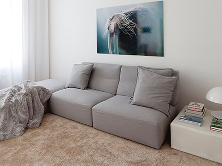 دکوراسیون داخلی مدرن آپارتمان ۱۲۰ متری